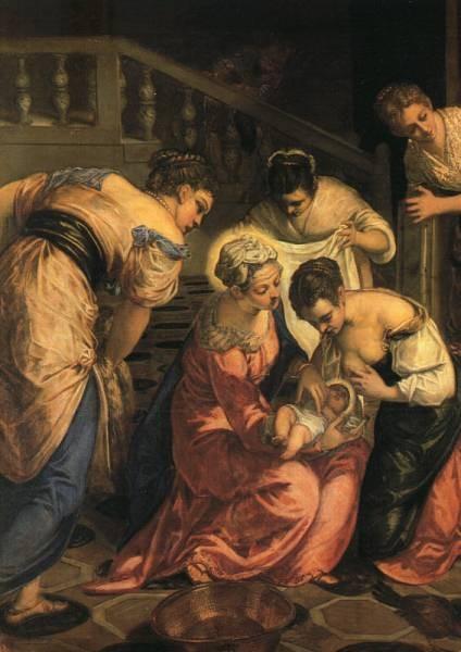 The Birth of St John the Baptist detail WGA